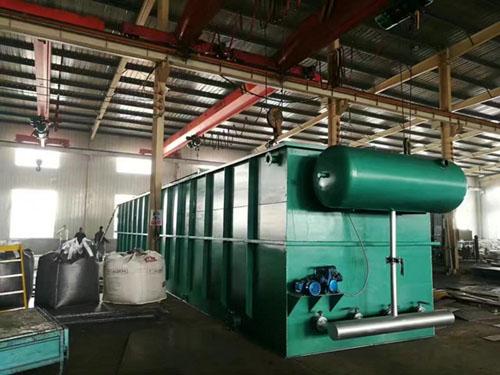 污水处理设备安装施工图片